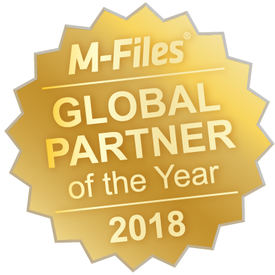 M-Files Global Partner of the Year 2016
